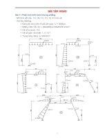 Bài tập thực hành phần mềm thiết kế cầu midas civil