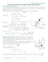 CHUYÊN đề ôn THI học SINH GIỎI lớp 12 môn vật lý lớp 12