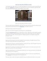 Cách chọn hướng cổng nhà để đón vượng khí