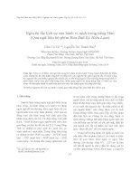 Nguyên tắc lịch sự của hành vi nịnh trong tiếng Hán (Qua ngữ liệu bộ phim Bản lĩnh Kỷ Hiểu Lam)
