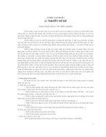 PHẦN THỨ NHẤT LÍ THUYẾT CƠ SỞ - KHÁI NIỆM CHUNG VỀ THIẾT BỊ ĐIỆN, GIÁO TRÌNH THIẾT BỊ ĐIỆN