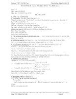 Giáo án dạy thêm Toán 10 (Phần 1)
