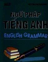 Tự học ngữ pháp tiếng anh