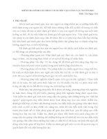 KIỂM TRA ĐÁNH GIÁ THEO CÁCH TIẾP CẬN NĂNG LỰC NGƯỜI HỌC