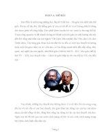 Tiểu luận tư tưởng triết học trong đạo phật