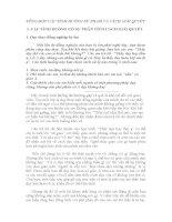 TỔNG HỢP CÁC TÌNH HUỐNG SƯ PHẠM và CÁCH GIẢI QUYẾT(ĐỦ CÁC CẤP HỌC)