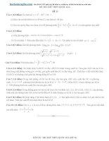20 đề thi thử THPT quốc gia môn toán 2015 có đáp án