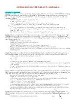 Đề ngữ văn và đáp án lớp 7 hoc ki 2