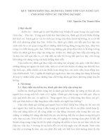 QUY TRÌNH KIỂM TRA, ĐÁNH GIÁ THEO TIẾP CẬN NĂNG LỰC CHO SINH VIÊN CÁC TRƯỜNG ĐẠI HỌC