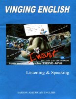 Vinging english listening and speaking