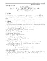 Tư chon toán 9 ( chuẩn )