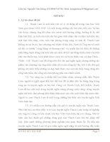 Một số kinh nghiệm trong giảng dạy Từ ngữ  trong truyện ngắn của Thạch Lam ở trường THPT