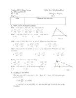 đề kiểm tra 1 tiết toán 8: đại số