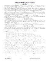 DỰ ĐOÁN ĐỀ THI THPT QUỐC GIA NĂM 2015 MÔN HÓA HỌC - ĐỀ SỐ 8