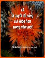 49 bi quyet de song vui