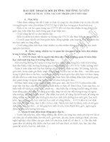 BÀI THU HOẠCH BỒI DƯỠNG THƯỜNG XUYÊN MODULE TH 34.  CÔNG TÁC CHỦ NHIỆM LỚP Ở TIỂU HỌC