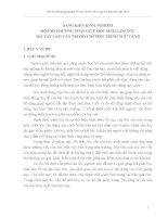 SÁNG KIẾN KINH NGHIỆM MỘT SỐ PHƯƠNG PHÁP GIÚP HỌC SINH LÀM TỐT  BÀI TẬP LÀM VĂN TRONG CHƯƠNG TRÌNH NGỮ VĂN 8