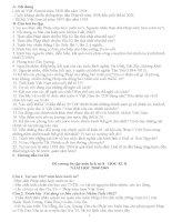 ĐỀ CƯƠNG ÔN TẬP LỊCH SỬ 8 KÌ II  CÓ HƯỚNG DẪN TRẢ LỜI  ĐẦY ĐR