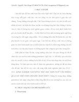 KINH NGHIỆM TẠO HỨNG THÚ HỌC MÔN NGỮ VĂN THÔNG QUA CÁC TRÒ CHƠI CHO HỌC SINH THPT