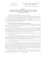 THÔNG TƯ số 185/2010/TT-BTCHướng dẫn sửa đổi, bổ sung Chế độ kế toán Hành chính sự nghiệp