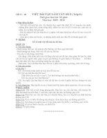 Bài viết số 2 lớp 6(09-10)
