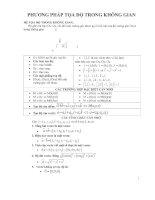 Hệ thống lý thuyết và bài tập Hình học không gian THPT