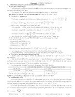 Hệ thống kiến thức Vật lí 12 (Dùng cho ôn thi ĐH)