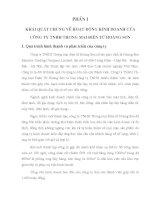 HOÀN THIỆN CÔNG TÁC KẾ TOÁN DOANH THU BÁN HÀNG VÀ XÁC ĐỊNH KẾT QUẢ  KINH DOANH CỦA CÔNG TY TNHH THƯƠNG MẠI ĐIỆN TỬ HOÀNG SƠN