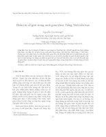 Điển tín về giới trong sách giáo khoa Tiếng Việt tiểu học