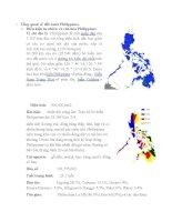 TỔNG QUAN VỀ ĐẤT NƯỚC PHILIPPINES VÀ ASEAN