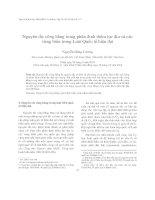 Nguyên tắc công bằng trong phân định thềm lục địa và các vùng biển trong Luật Quốc tế hiện đại