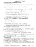 Hệ thống kiến thức Vật Lí 12 (Ôn thi ĐH & TN)