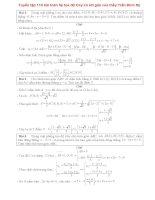 Tuyển tập 110 bài toán hệ tọa độ oxy có lời giải của thầy trần đình sỹ