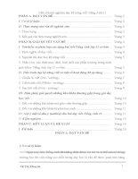 Một số kinh nghiệm dạy kỹ năng viết Tiếng Anh 11