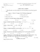 bài KTĐK cuối kì II- toán( 09-10)