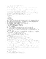 200câu hỏi trắc nghiệm ôn tập Pháp luật đại cương (có đáp án)