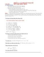 Tài liệu ôn thi vao 10(Cơ bản+Nâng cao Có đáp án)(Hay cực)