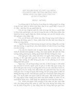 MỘT SỐ BIỆN PHÁP TỔ CHỨC LAO ĐỘNG CỦA NGƯỜI HIỆU TRƯỞNG TRƯỜNG THCS NHẰM NÂNG CAO HIỆU QUẢ CÔNG TÁCQUẢN LÝ DẠY HỌC
