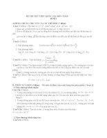 17 đề THI THỬ THPT QUỐC GIA môn TOÁN (kèm đáp án CHI TIẾT)