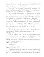 Một số kinh nghiệm giúp học sinh làm tốt các bài văn tránh những sai lầm cho học sinh lớp 11 ở trường THPT