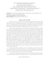 SÁNG KIẾN KINH NGHIỆM VỀ MỘT SỐ BIỆN PHÁP HÌNH THÀNH KĨ NĂNG  NHÂN, CHIA SỐ THẬP PHÂN  CHO HỌC SINH LỚP 5 C TRƯỜNG TIỂU HỌC PHƯỚC TÂN I
