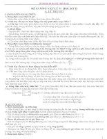 Đề cương ôn tập Vật lí 9 - Học kì II