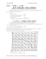 thuyết minh đồ án kỹ thuật thi công công trình nhà ở dh xây dựng đà nẵng