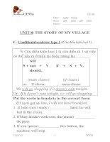AV 10 Unit 8 The story of my village 2