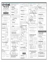 Trước khi thi nên có giúp trí nhớ công thức vật lý 12 năm 2015