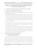 Thực trạng công tác huy động vốn tại ngân hàng vietinbank chi nhánh tân bình