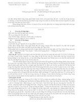 Đề và đáp án thi HSG văn 9 TP Quy Nhơn-Bình Định (2009-2010).