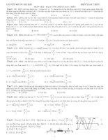 Luyện thi đại học môn lý   chuyên đề điện xoay chiều  thầy hòa