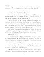 Tiểu luận môn kinh tế công cộng ỦNG HỘ QUYẾT ĐỊNH GỘP 2 KỲ THI TỐT NGHIỆP THPT VÀ TUYỂN SINH ĐẠI HỌC  LẠI THÀNH MỘT KỲ THI TỐT NGHIỆP THPT QUỐC GIA