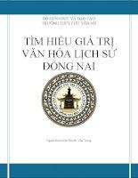 TÌM HIỂU GIÁ TRỊ  VĂN HÓA LỊCH SỬ  ĐỒNG NAI:Huỳnh Văn Nghệ